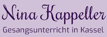 Nina Kappeller – Gesangsunterricht, Singen lernen, Stimmtraining, Coaching in Kassel
